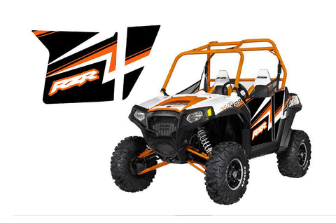 UTV Doors 2013 Rzr 800 Orange Madness