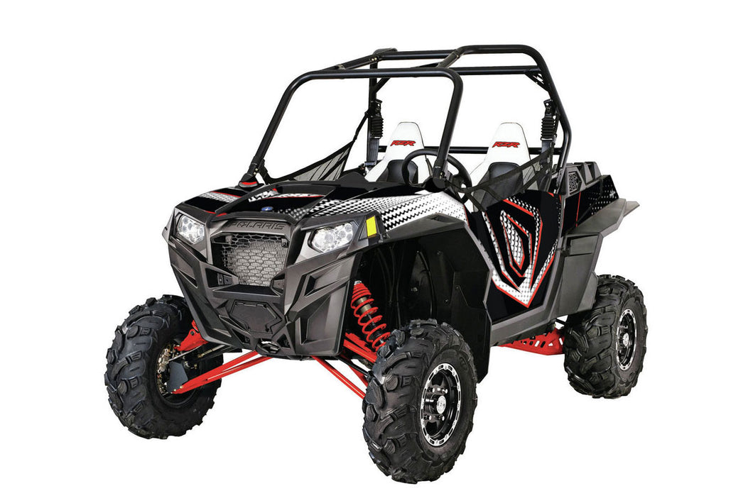 Cykle UTV Wrap for Polaris RZR, rzr570, xp900, xp1000, xp4 from Toyskinz.