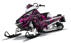 Aero sled wrap for Polaris RMK Pro from Toyskinz.