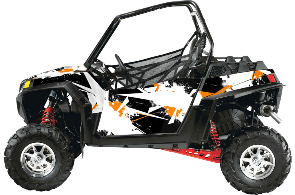 Blasted UTV Wrap Polaris RZR XC