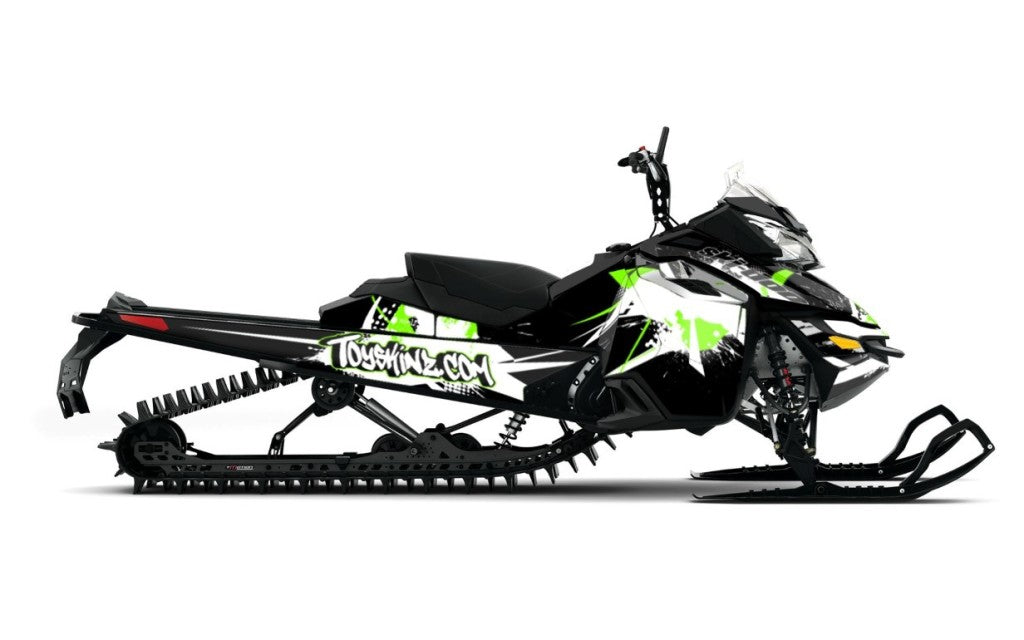Blasted Sled Wrap for Ski-Doo XM