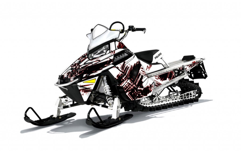 Broken Sled Wrap Polaris Pro RMK