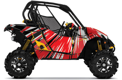 Burzt UTV Wrap for Can-Am Maverick and Maverick Max from Toyskinz.