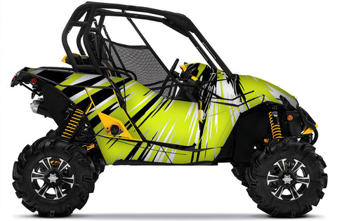 Burzt2 UTV Wrap for Can-Am Maverick and Maverick Max from Toyskinz.