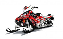 Burzt sled wrap for Polaris RMK Pro from Toyskinz.