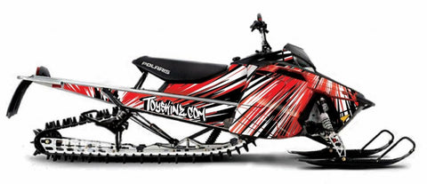 Burzt Polaris Axys sled wrap from Toyskinz.