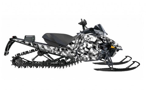 Camo sled wrap Arctic Cat Proclimb from Toyskinz.