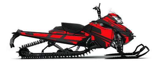 CarbonCore sled wrap from Toyskinz for the Ski doo Gen4.