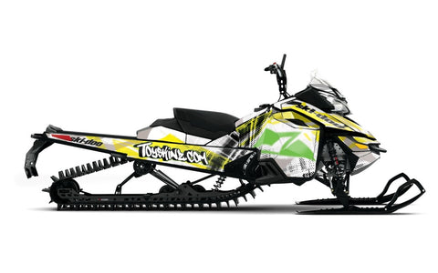 Chaff'd Sled Wrap for Ski-Doo XM, XS and Gen4 from Toyskinz