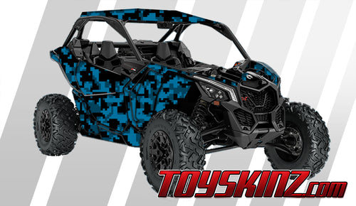 DigiCamo UTV Wrap Can-Am Maverick X3