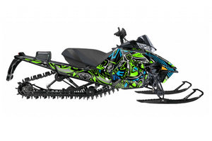 Dirty Arctic Cat Pro Climb sled wrap from Toyskinz.