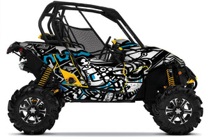 Dirty UTV Wrap Can-Am Maverick