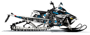 Dirty Polaris Axys sled wrap from Toyskinz.