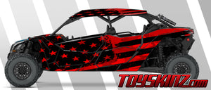 Flagster UTV Wrap Can-Am Maverick X3 Max