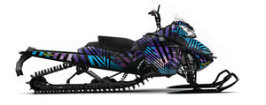 Galaxy Sled wrap for Ski-Doo XM