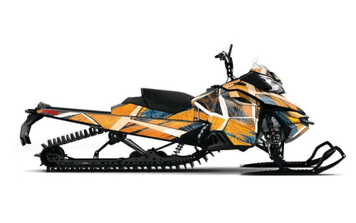 Gentlemen sled wrap ski doo XM from Toyskinz.