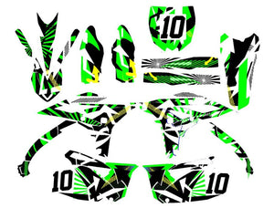 Arrow Dirt Bike Wrap for Kawasaki