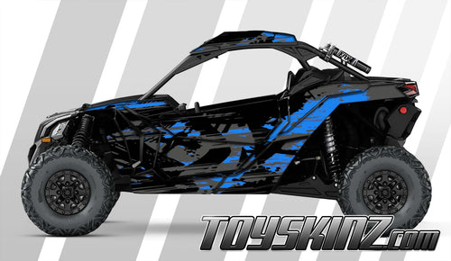 Machete UTV Wrap Can-Am Maverick X3