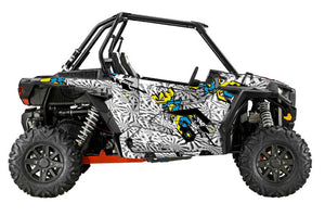 Techno UTV Wrap Polaris RZR from Toyskinz. XP1000, XP4.