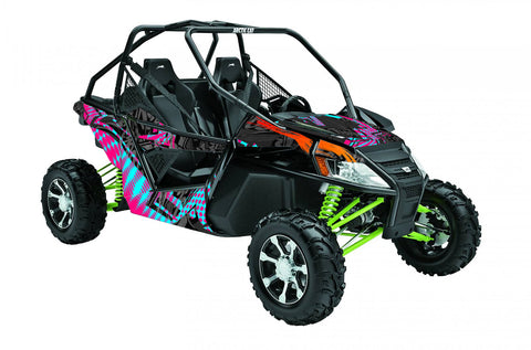 Ashley Chaffin UTV Wrap Arctic Cat Wildcat