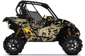 America UTV wrap kit for Can-Am Maverick from Toyskinz.