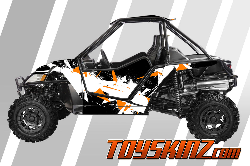 Blasted UTV Arctic Cat Wildcat X