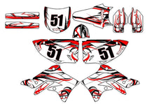 Buckland dirt bike wrap kit for Honda from Toyskinz.