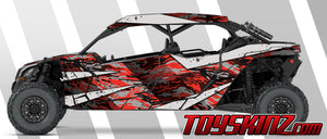 Camo UTV Wrap Can-Am Maverick X3 Max