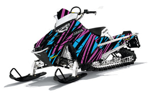 Clash sled wrap kit for Polaris RMK Pro.