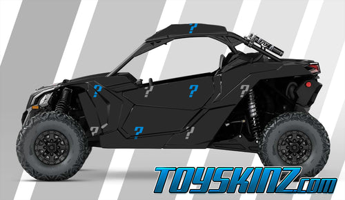 Custom Design UTV Wrap Can-Am Maverick X3