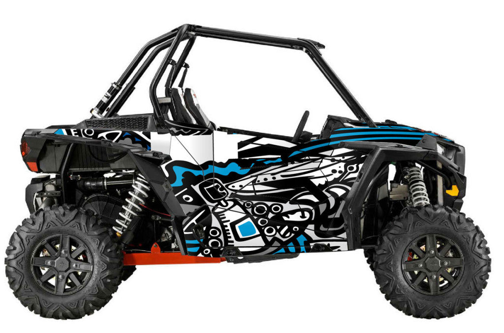 Dirty UTV Wrap for Polaris RzR XC and RzR S