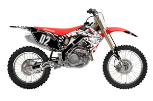 Flash dirt bike wrap kit for Honda from Toyskinz.