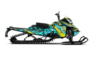 Gonzo sled wrap for skidoo xm from Toyskinz.