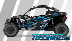 Hillster UTV Wrap Can-Am Maverick X3