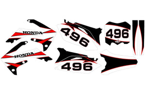Holla Dirt Bike Wrap for Honda