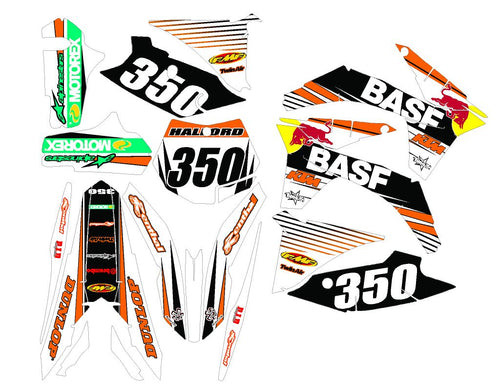 Hal Dirt Bike Wrap for KTM