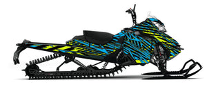 LimeTime Sled Wrap for Ski-Doo Gen4