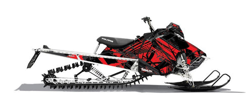 Machete Sled Wrap for Polaris Axys