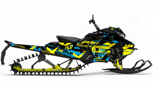 Machete Sled Wrap for Ski-Doo XM