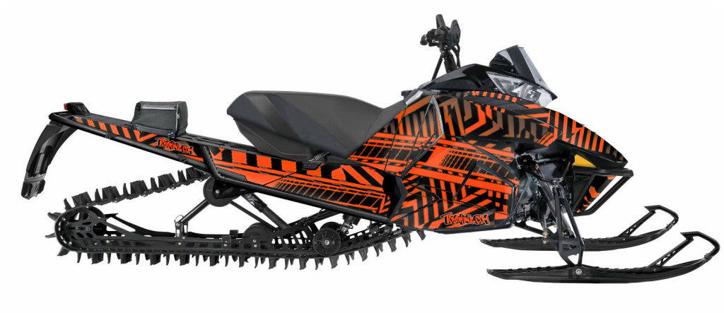Maze Sled Wrap for Arctic Cat Proclimb