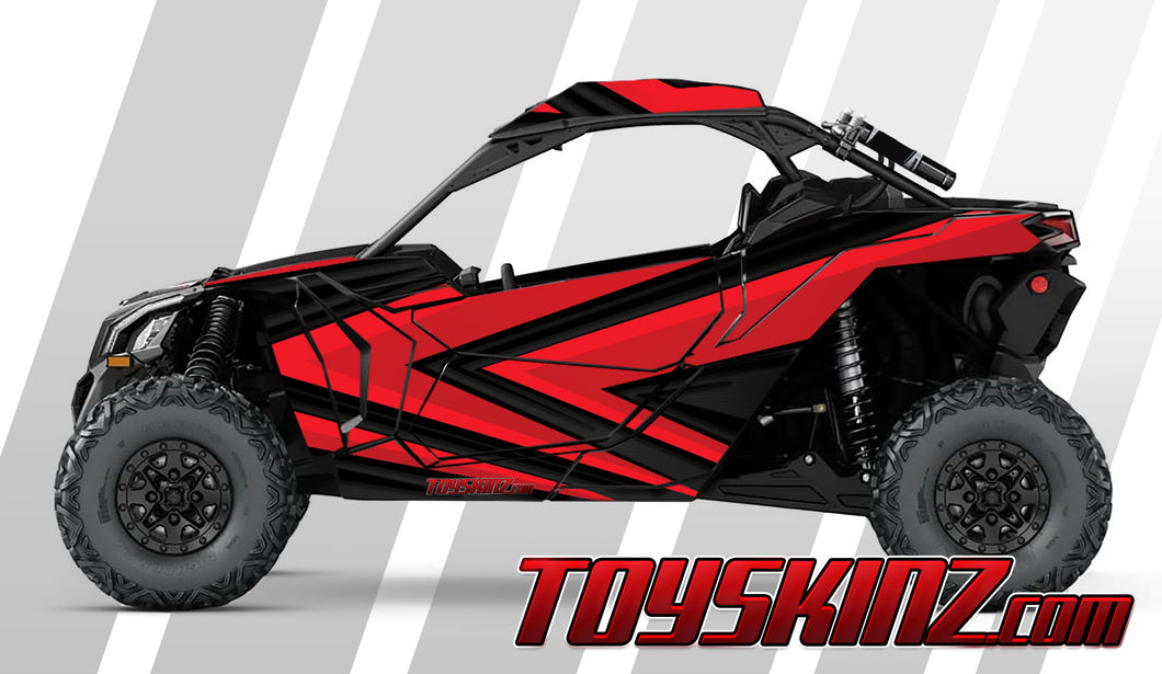 Oblivion UTV Wrap Can-Am Maverick X3