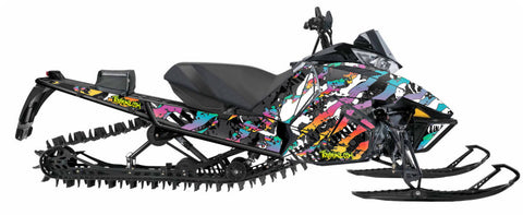 Paintball Sled Wrap for Arctic Cat Proclimb