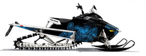 Paisley Sled Wrap for Polaris Pro RMK