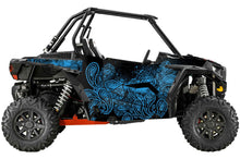 Paisley UTV Wrap for Polaris RzR XC and RzR S