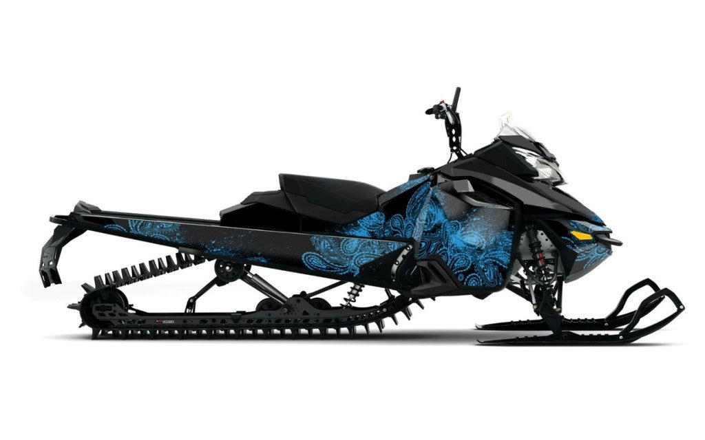 Paisley Sled Wrap for Ski-Doo XM