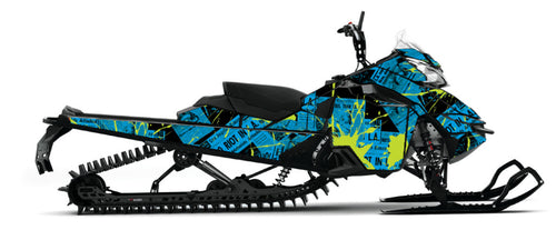 Riot Sled Wrap for Ski-Doo XM