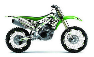 Rizzer Dirt Bike Wrap for Kawasaki