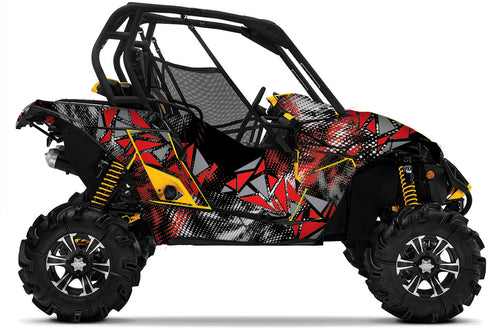 Scatter UTV Wrap Can-Am Maverick