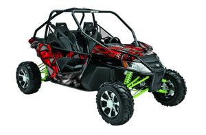 Scatter UTV Wrap Arctic Cat Wildcat Trail