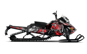 Scatter Sled Wrap for Ski-Doo XM